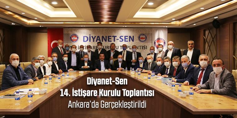 Diyanet-Sen 14. İstişare Kurulu Toplantısı Ankara'da Gerçekleştirildi