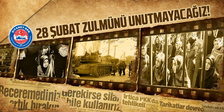 Milleti Tasfiye, Vesayeti Takviyeyi Amaçlayan 28 Şubat Darbesini Unutmayacağız!