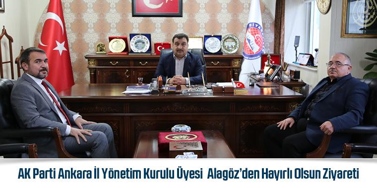 AK Parti Ankara İl Yönetim Kurulu Üyesi  Alagöz'den Hayırlı Olsun Ziyareti