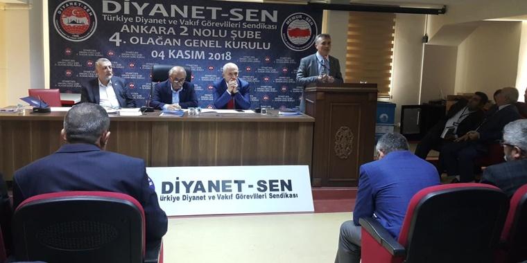 Ankara 2 Nolu Şubede Bayrağı Mustafa Uzun Devraldı