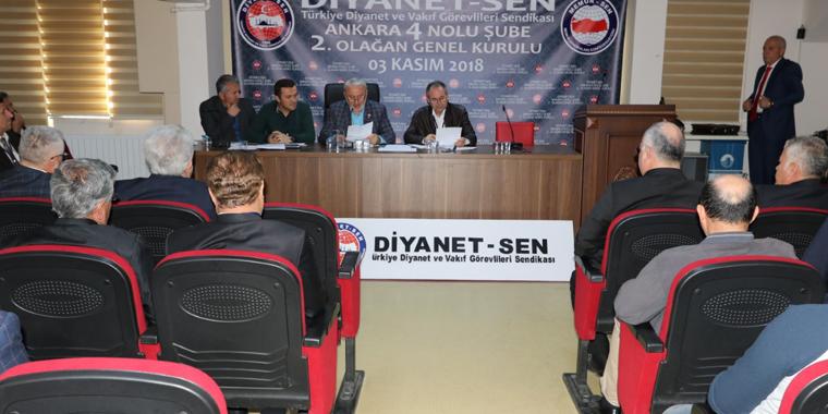 Ankara 4 Nolu Şube Kılıç ile Yola Devam Ediyor