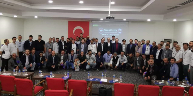 Antalya 2 İlk Kongresini Gerçekleştirdi