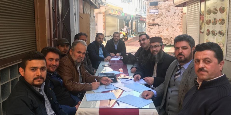 Aydın'da Diyanet-Sen Ailesine 41 Katılım