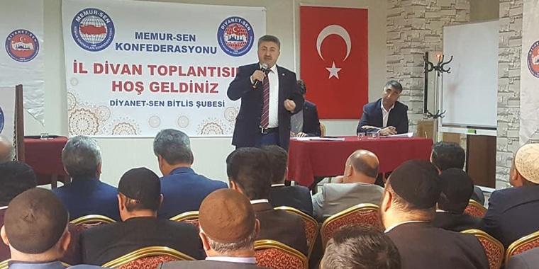 Bitlis İl Divan Toplantısı Gerçekleştirildi