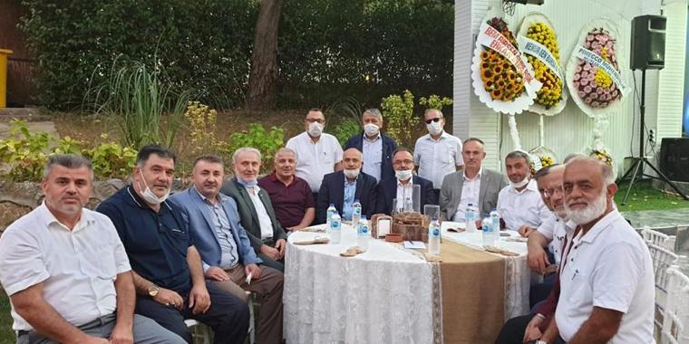 Bursa 1 Nolu Şube Başkanı Sarkı Mutlu Gününde Yalnız Bırakılmadı