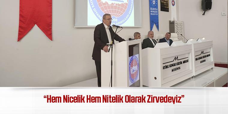 """""""Hem Nicelik Hem Nitelik Olarak Zirvedeyiz"""""""