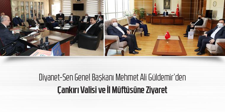 Genel Başkan Mehmet Ali Güldemir'den Çankırı Valisi ve İl Müftüsüne Ziyaret
