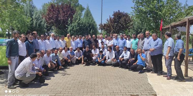 Diyarbakır İl ve İlçe Yönetimleri ile İstişare Gerçekleştirildi