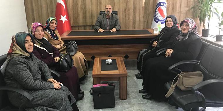 Karabulut'tan  Erzincan Kadınlar Komisyonu'na Ziyaret