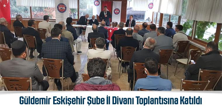 Güldemir Eskişehir Şube İl Divanı Toplantısına Katıldı