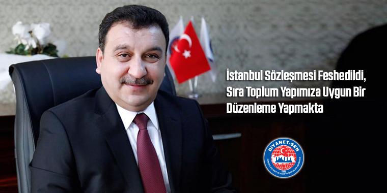 İstanbul Sözleşmesi Feshedildi, Sıra Toplum Yapımıza Uygun Bir Düzenleme Yapmakta