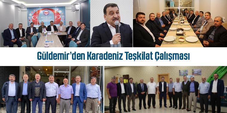 Güldemir'den Karadeniz Teşkilat Çalışması