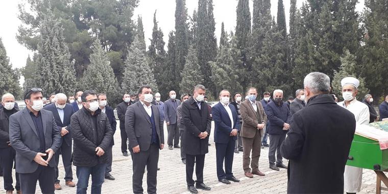 Şube Başkanımız Yaşar Köstek'i Acı Gününde Yalnız Bırakmadık