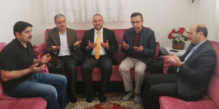Nevşehir'de Vefat Eden Üyemizin Ailesine Ferdi Kaza Çeki Verildi