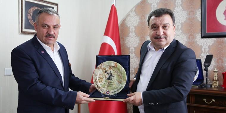 Kırşehir Şubesi'nden Güldemir'e Hayırlı Olsun Ziyareti