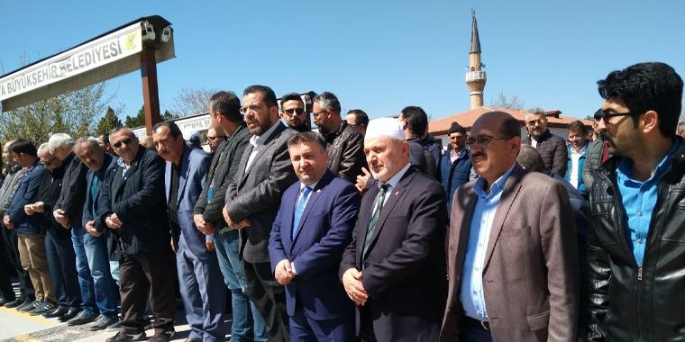 Sele Kapılan Hocamızın Yakınları Konya'da Defnedildi