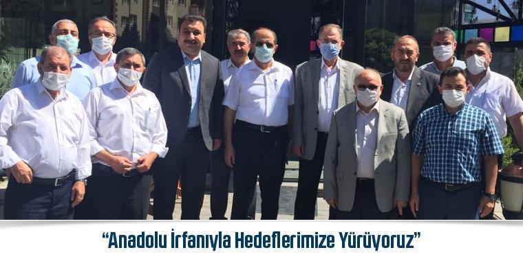 Güldemir: Anadolu İrfanıyla Hedeflerimize Yürüyoruz