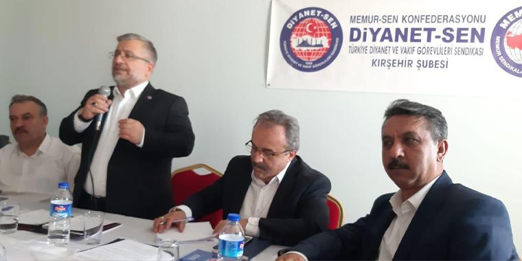 Kırşehir İl Divan Toplantısı Gerçekleştirildi