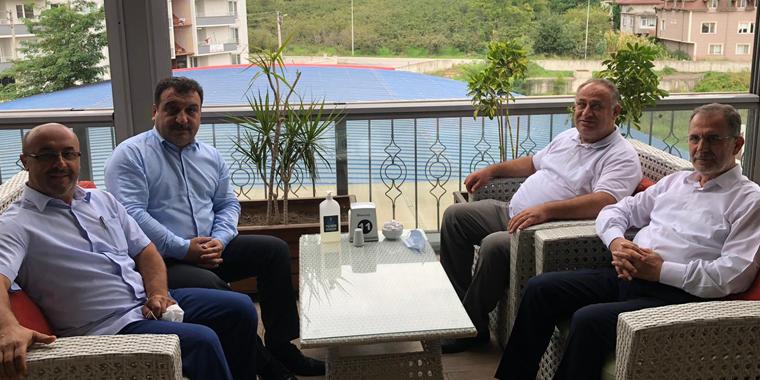 Özkan'a Başsağlığı Ziyareti