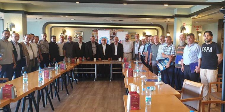 Özkan İstanbul 3 Nolu Şube İstişare Toplantısına Katıldı