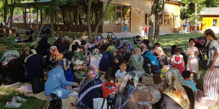 Van'da Hanım Üyeler Piknikte Buluştu